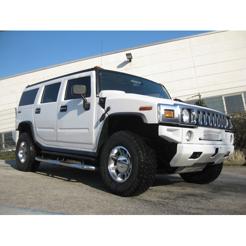 Hummer H2 in weiss