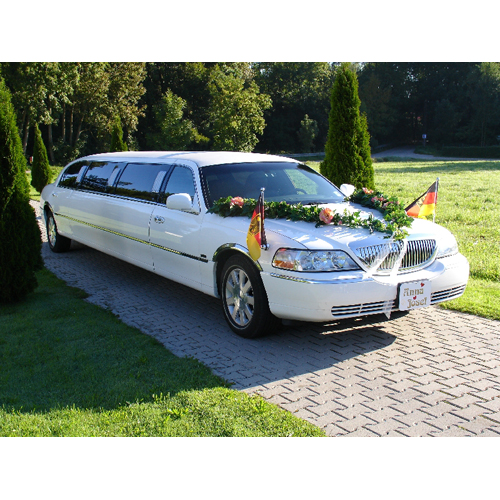 StretchLimousine Lincoln in wei�