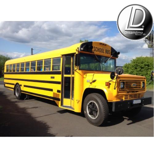 partybus american schoolbus in siegen olpe marburg bad. Black Bedroom Furniture Sets. Home Design Ideas